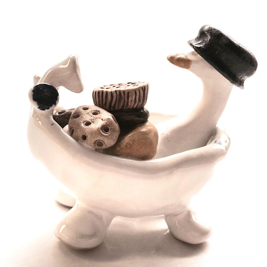 anna heij, gås i badkar, 20160608